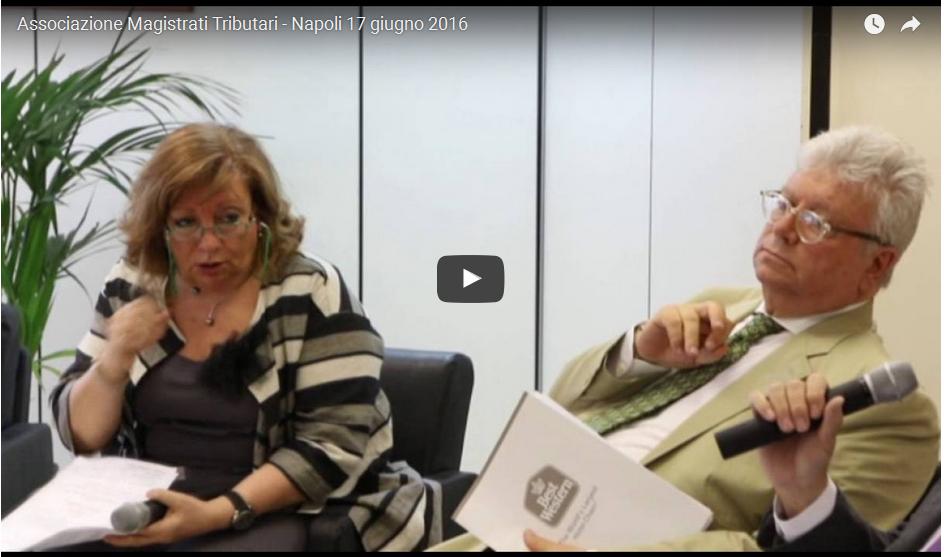 Associazione Magistrati Tributari – Napoli 17 giugno 2016