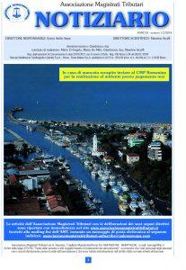 Notiziario anno XI n. 1-2  gennaio – giugno 2014