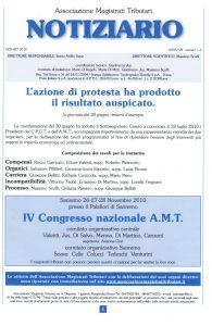Notiziario anno VII n. 1-3 gennaio – settembre 2010