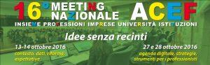 Meeting Nazionale ACEF – Bologna 14 ottobre