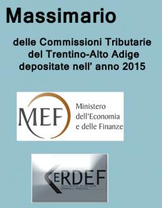 Massimario Trentino Alto Adige 2016