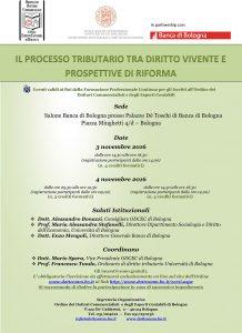 IL PROCESSO TRIBUTARIO TRA DIRITTO VIVENTE E PROSPETTIVE DI RIFORMA