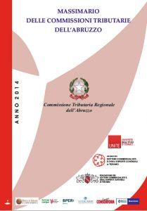 Massimario delle commissioni tributarie dell'Abruzzo