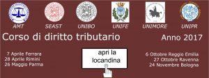 Corso di diritto tributario (tutte le giornate)