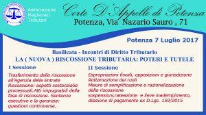 Basilicata – Incontri di Diritto Tributario